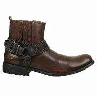 Black Bed Stu Mens Boots Boot Innovator Harness Teak