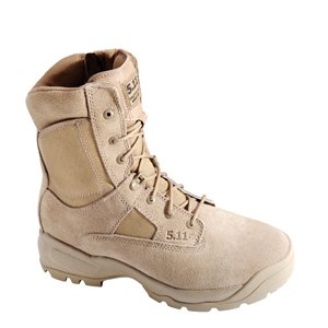 5.11 Men's A.T.A.C. 8″ Side Zip Boot,Coyote Brown,9.5 D(M) US