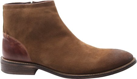 Testosterone Men's Just Us,Tan/Cognac Suede/Leather,EU 44 M