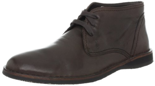 John Varvatos Men's Hipster Chukka Boot,Dk. Brown,11 M Us
