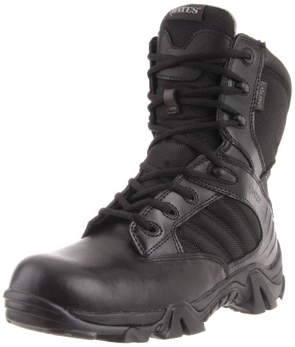 Bates Men's GX-8 8 Inch Ultra-Lites GTX Waterproof Boot, Black, 13 M US