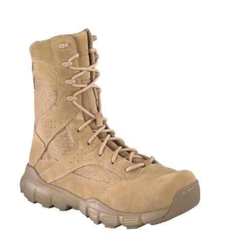 Reebok Men's 8″ Dauntless Soft Toe Combat Boot Desert Tan 11.5 M US