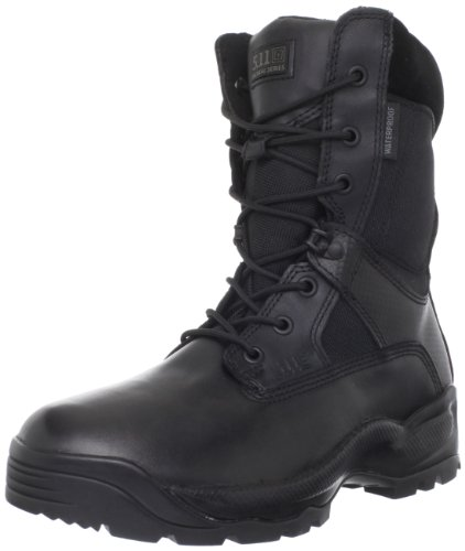 5.11 Men's A.T.A.C. Storm 8″ Side Zip Boot,Black,10 D(M) US