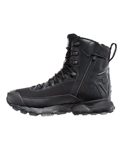 Under Armour Men's UA Valsetz Side Zip Tactical Boots 10.5 Black