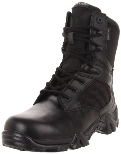 Bates Men's GX-8 Gore-Tex S Zip Insulated Waterproof Boot, Black, 11 M US