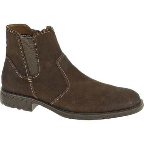 Men's Hush Puppies Plane Jodphur Plain Toe (9 M in Dk Brown Suede)