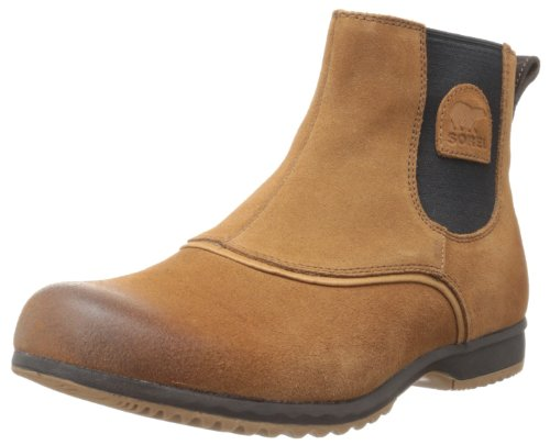 Sorel Men's Greely Chelsea Boot,Elk,8.5 M US