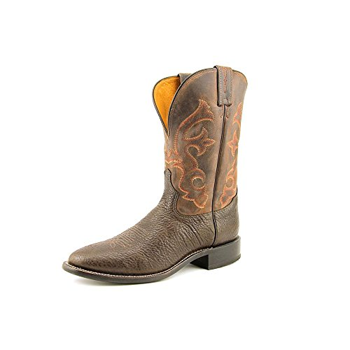 Tony Lama Men's Shoulder Cowhide 7940 Western Boot,Java/Brown,11 D US