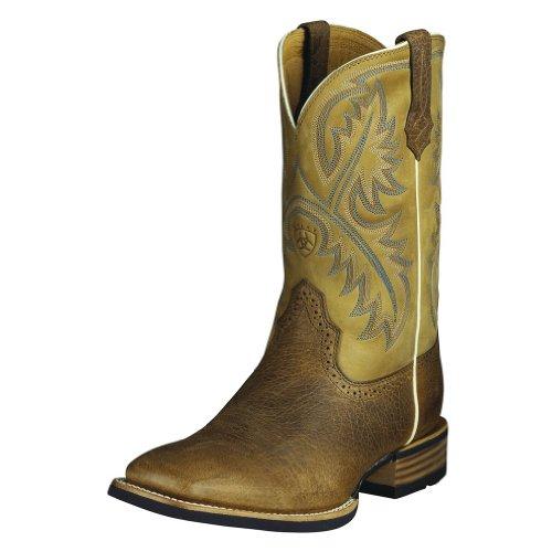 Ariat Mens Quickdraw Boot (15 D, Tumbled Bark)