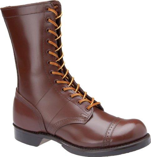 Corcoran 1510 Mens 10-inch Historic Brown Jump Boot (6.5 D, Brown)