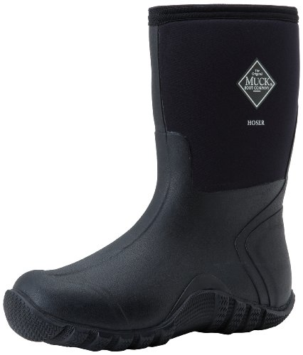 The Original MuckBoots Adult Hoser Mid Boot,Black,11 M US Mens/12 M US Womens