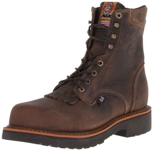 Justin Original Work Boots Men's Jmax CT Composite Work Boot,Tan/Crazy Horse,8 D US