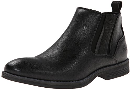 Kenneth Cole Reaction Men's Be A Wear SY Chelsea Boot, Black, 12 M US