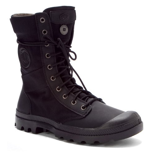Palladium Men's Pampa Tactical Boot,Black/Metal,13 M US