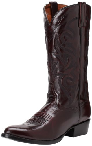 Dan Post Men's Milwaukee 13 inch R Toe Western Boot,Black Cherry,9 D US