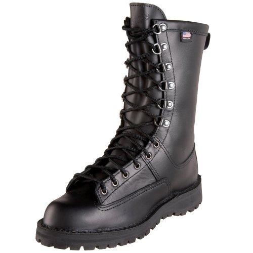 Danner Men's Fort Lewis 10″ Uniform Boot,Black,11.5 D US