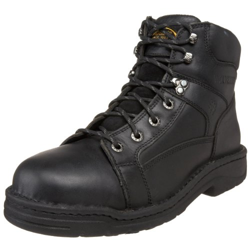Wolverine Men's Exert Durashock Steel Toe Boot,Black,11 M US