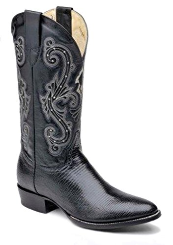 Corral Men's 060160 Econo Line Ring Black Western Boots 6.5 EE