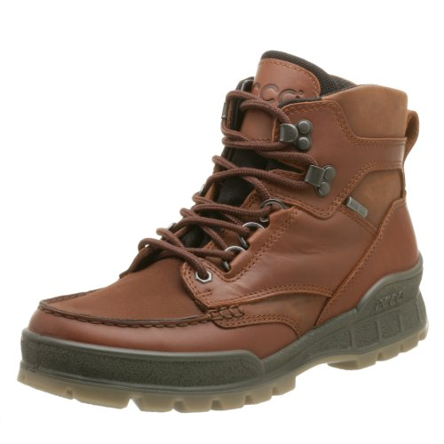 ECCO Men's Track II Mid Gore-Tex Boot,Bison,44 EU (US Men's 10-10.5 M)