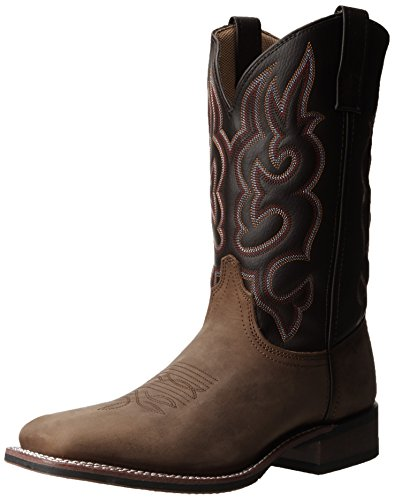Laredo Men's Lodi Western Boot,Taupe/Chocolate,9 D US