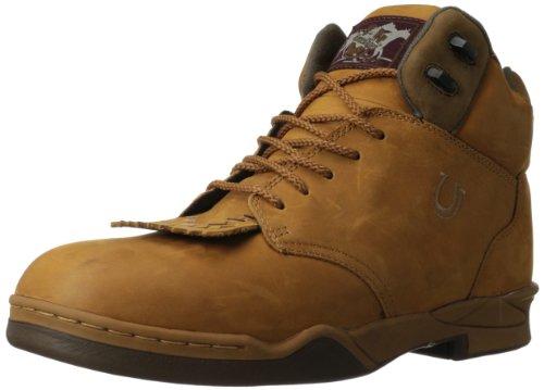 Roper Men's Kiltie Horse Western Boot,Amber,9 M US