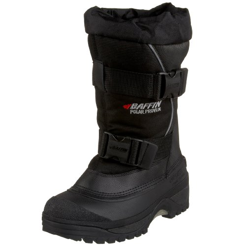 Baffin Men's Wolf Snow Boot,Black/Pewter,7 M US