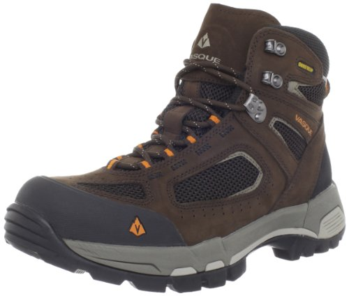 Vasque Men's Breeze 2.0 GTX Waterproof Hiking Boot,Slate Brown/Russet Orange,10 M US