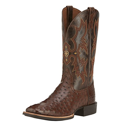 Ariat Men's Quantum Classic Western Boot,  Antique Tabaco Full-Quill,  10 D US