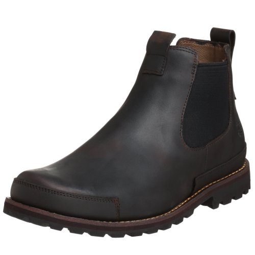 Timberland Men's Earthkeepers Chelsea Boot,Dark Brown,11.5 M US