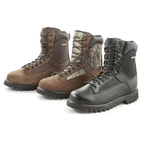 Guide Gear Men's Hunting Boots 800 Gram Thinsulate Waterproof, HDWDS GREY, 11M