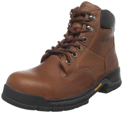 Wolverine Men's Harrison W04904 Work Boot,Brown Leather,11 M US