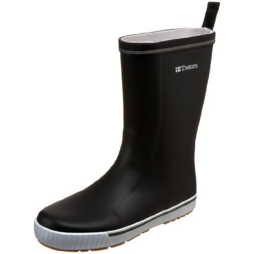 Tretorn Skerry Rain Boot, Black, 37 M EU (US Men's 5 M/6 M)