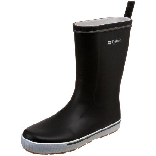 Tretorn Skerry Rain Boot, Black, 37 M EU (US Men's 5 M/6 M)