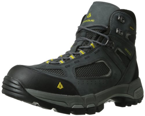 Vasque Men's Breeze 2.0 GTX Waterproof Hiking Boot,Castlerock/Solar Power,9 M US