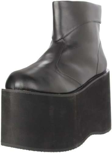 Funtasma by Pleaser Men's Halloween Monster-02,Black Polyurethane,M (US Men's 10-11 M)