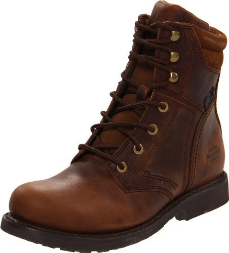 Harley-Davidson Men's Darnel Motorcycle Boot,Brown,8.5 M US