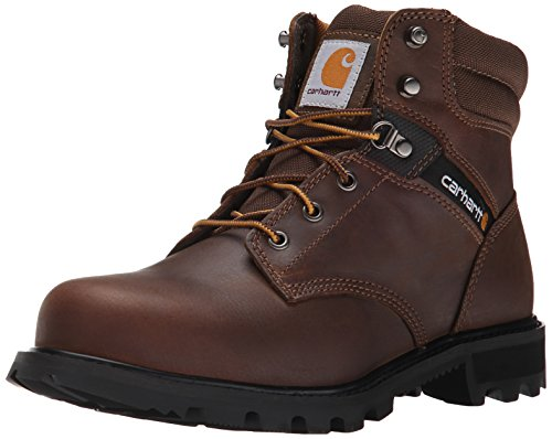 Carhartt Men's 6 Work Safety Toe NWP Work Boot, Crazy Horse Brown Oil Tanned, 12 M US
