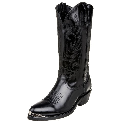 Laredo Men's 12621 12″ Trucker Boot- comfortable cowboy boots for men