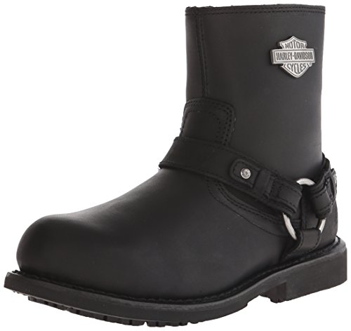 Harley-Davidson Men's Scout ST Harness Safety Boot, Black, 10 M US