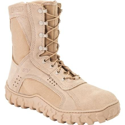 Rocky Men's S2V Steel Protective Toe Tan Boot 12.5 M