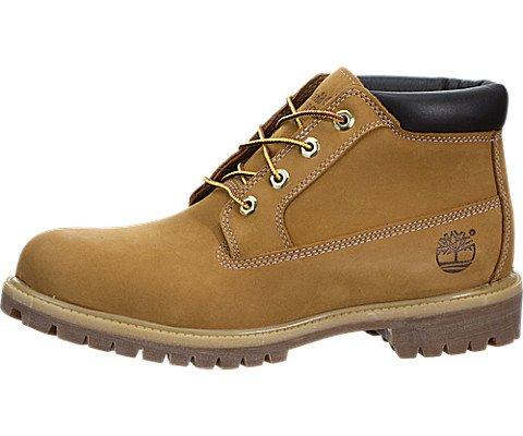 Timberland Mens Boots Premium Chukka Waterproof Wheat Suede Style# 23061