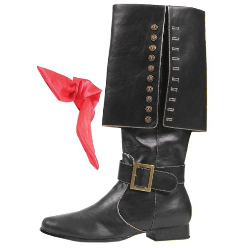 Captain Black Adult Boots