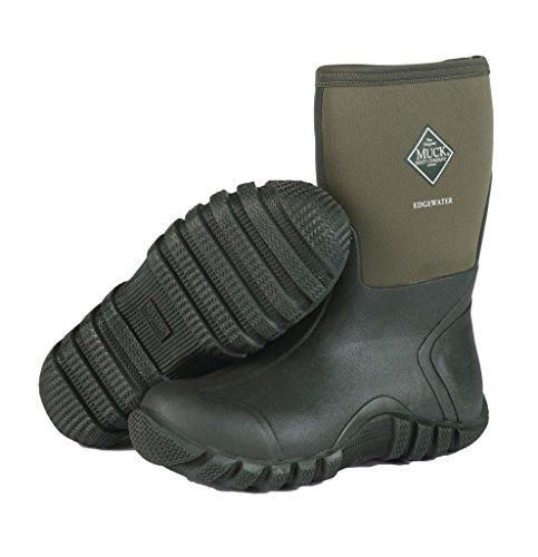 Muck Boots Mens Edgewater Mid 13″ Multi-Purpose WP 14 Green EWM-333T