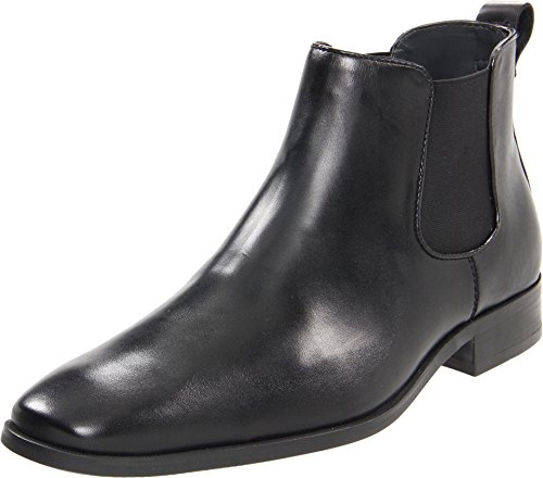 Calvin Klein Men's Garrison Black Dress Calf Boot 10 M