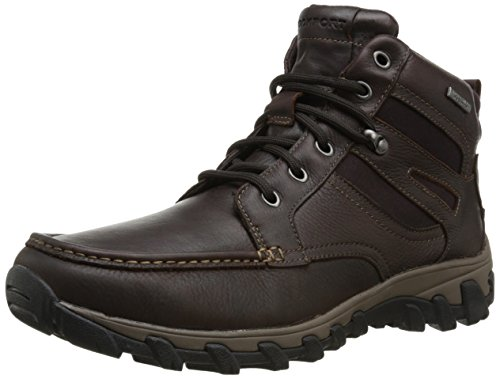 Rockport Men's Cold Springs Plus MC Toe Snow Boot,Chocolate Leather,8.5 M US