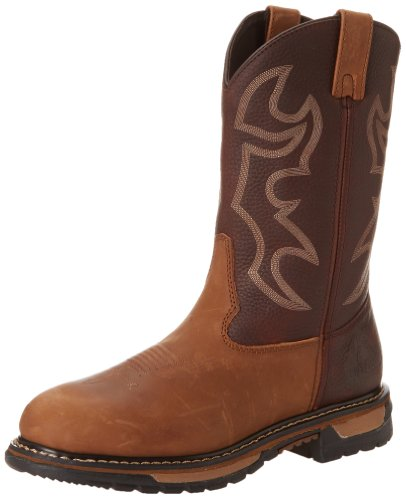 Rocky Men's Original Ride Bridal Work Boot,Crazy Horse,10.5 M US