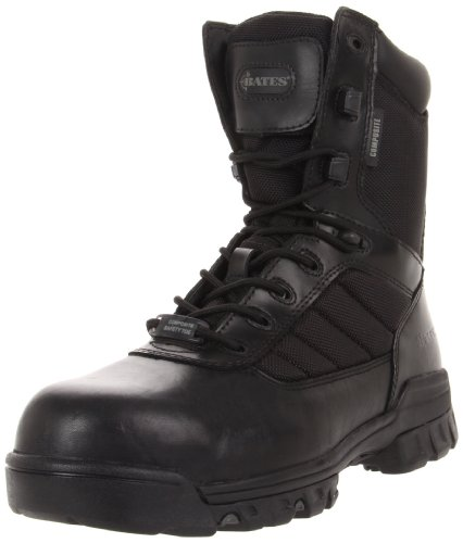 Bates Men's Ulta-lites 8 Inches Tactical Sport Comp Toe Work Boot, Black, 10.5 XW US