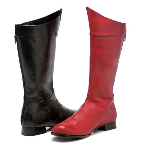 ELLIE SHOES – Shazam (Red) Adult Boots – Large (12-13) – Red