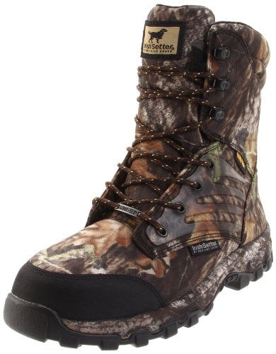 Irish Setter Men's 3859 Shadow Trek WP 800 Gram 9″ Big Game Boot,Mossy Oak Break-Up Camouflage,11 D US