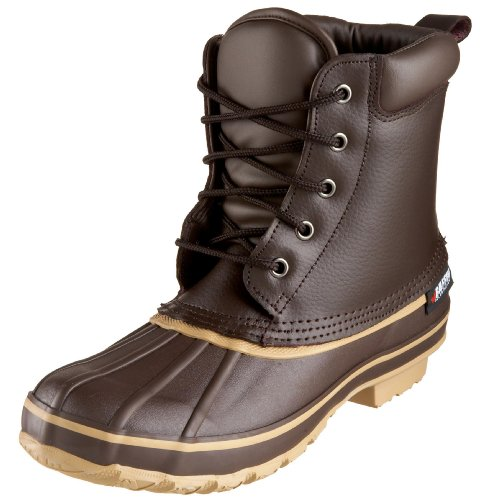 Baffin Men's Moose Rain Boot,Brown,8 M US